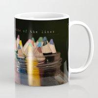 Color outside of the lines Mug