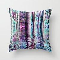 PEACE TREE-TY Throw Pillow
