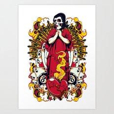 Pray for luck Art Print