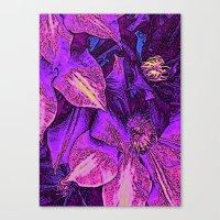 Psychedelic Garden Canvas Print