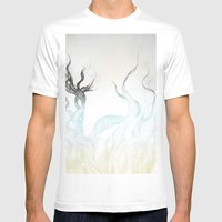 Wild Hair!  Mens Fitted Tee White SMALL