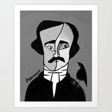 Poecasso Art Print
