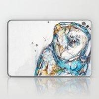 The Sea Glass Owl Laptop & iPad Skin