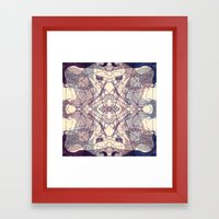 Kaleidoscopic Trip Framed Art Print