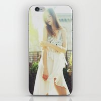A Golden Summer's End iPhone & iPod Skin