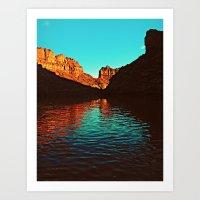 Deep Reflections Art Print