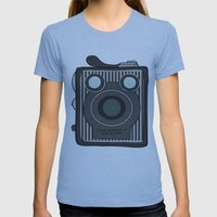 Brownie Womens Fitted Tee Athletic Blue SMALL