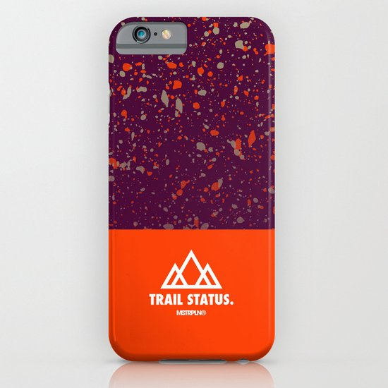 Trail Status / Orange iPhone & iPod Case