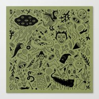 Curious Collection No. 2… Canvas Print