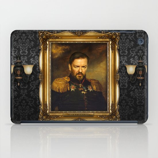 Ricky Gervais - replaceface iPad Case