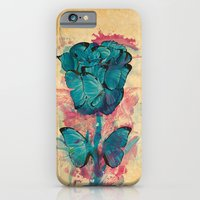 iPhone & iPod Case featuring Butterfly Rose by Phonoric