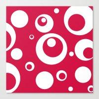 Circles Dots Bubbles :: … Canvas Print