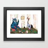 Special Room IX Framed Art Print