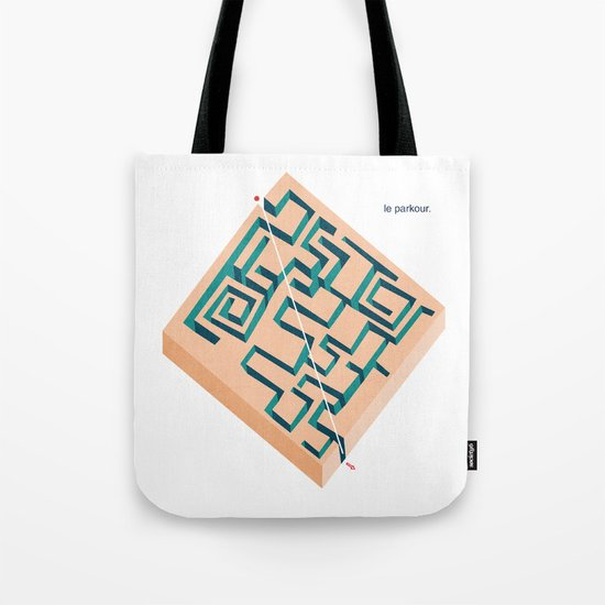 Le Parkour Tote Bag