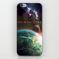 The Universe awaits iPhone & iPod Skin