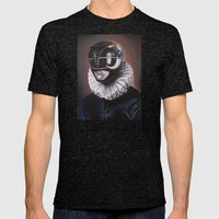 Portrait Of A Black Rang… Mens Fitted Tee Tri-Black SMALL