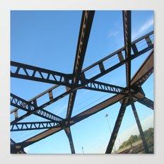 Bridge in Mpls Canvas Print