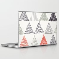 triangle Laptop & iPad Skins featuring Triangle by samedia