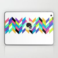 geo skull Laptop & iPad Skin