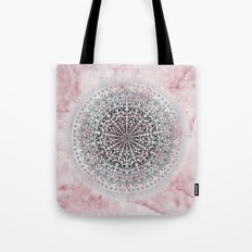 ICELAND MANDALA IN PINK Tote Bag