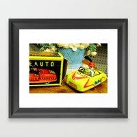 Trip Down Memory Lane... Framed Art Print