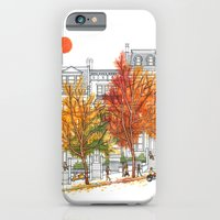 iPhone & iPod Case featuring Autumn Cityscape by Paul Sheaffer