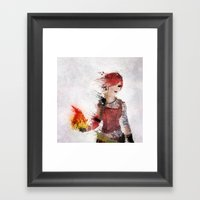 Lilith Framed Art Print