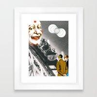 World Of Clowns Framed Art Print