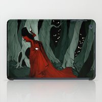 Snow White Lost in the Woods iPad Case