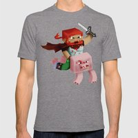 Minecraft Avatar H00j0 Mens Fitted Tee Tri-Grey SMALL