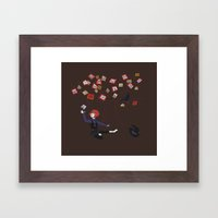 Memory Tree Framed Art Print