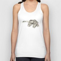 Flying Swan Unisex Tank Top