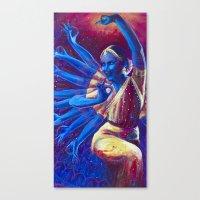 Goddess Nataraj Canvas Print
