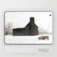 A Snowy Day In The Count… Laptop & iPad Skin