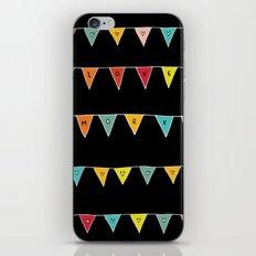 Love More (Black) iPhone & iPod Skin