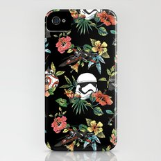 The Floral Awakens Slim Case iPhone (4, 4s)