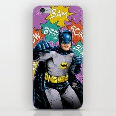 SAME BAT-TIME iPhone & iPod Skin
