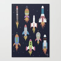 Rockets! Canvas Print