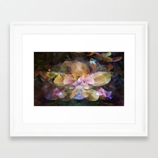 In a Hidden Place Framed Art Print