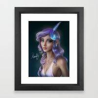 Rarity Framed Art Print
