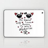 Love In Many Language Laptop & iPad Skin