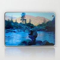 River blues Laptop & iPad Skin