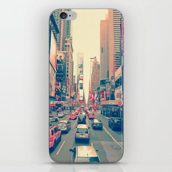 Times Square Traffic iPhone & iPod Skin