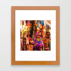 Connect with yourself Framed Art Print