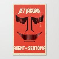Jet Jaguar! Canvas Print