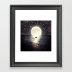 Imagine - Second Date  Framed Art Print