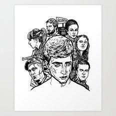 In The Flesh Art Print
