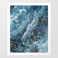 Another Word for Blue Art Print