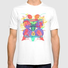 And Then Nothing. White Mens Fitted Tee SMALL