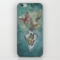 Butterfly Bottle  iPhone & iPod Skin